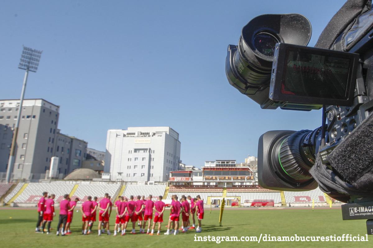 MASS-MEDIA. Acreditări de presă la Dinamo București vs Viitorul Constanța