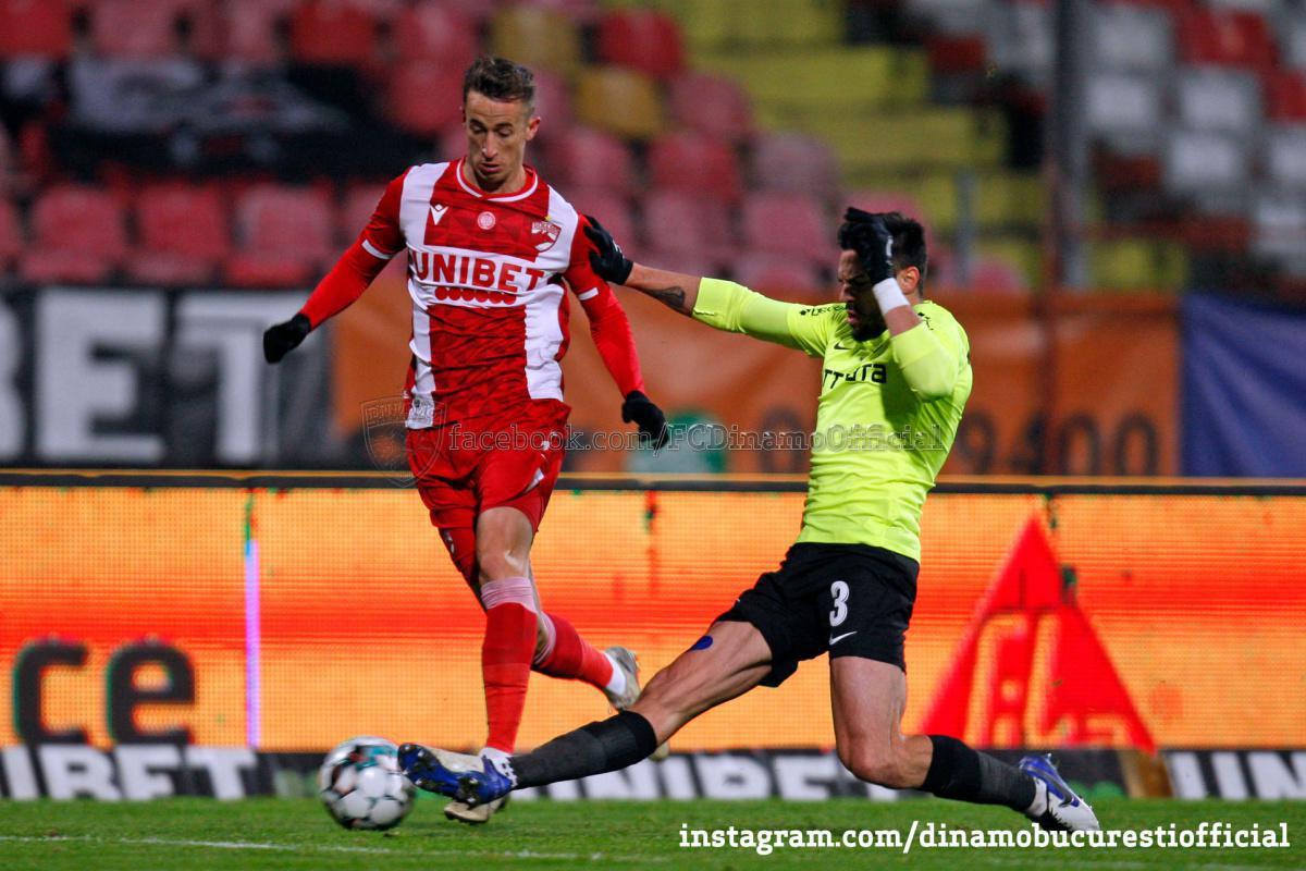 CASA Liga 1 (etapa 14). Dinamo București vs CFR Cluj 0-2 (0-2)