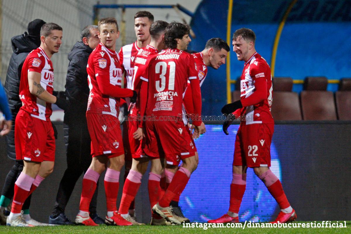CASA Liga 1 (etapa 15). Academica Clinceni vs Dinamo București 1-1 (0-0)