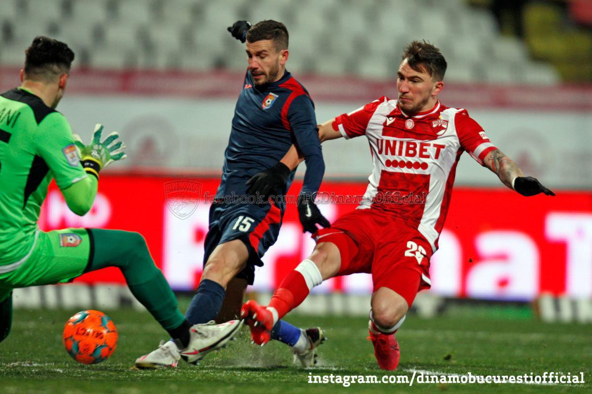 CASA Liga 1 (etapa 17). Dinamo București vs Chindia Târgoviște 0-1 (0-0)