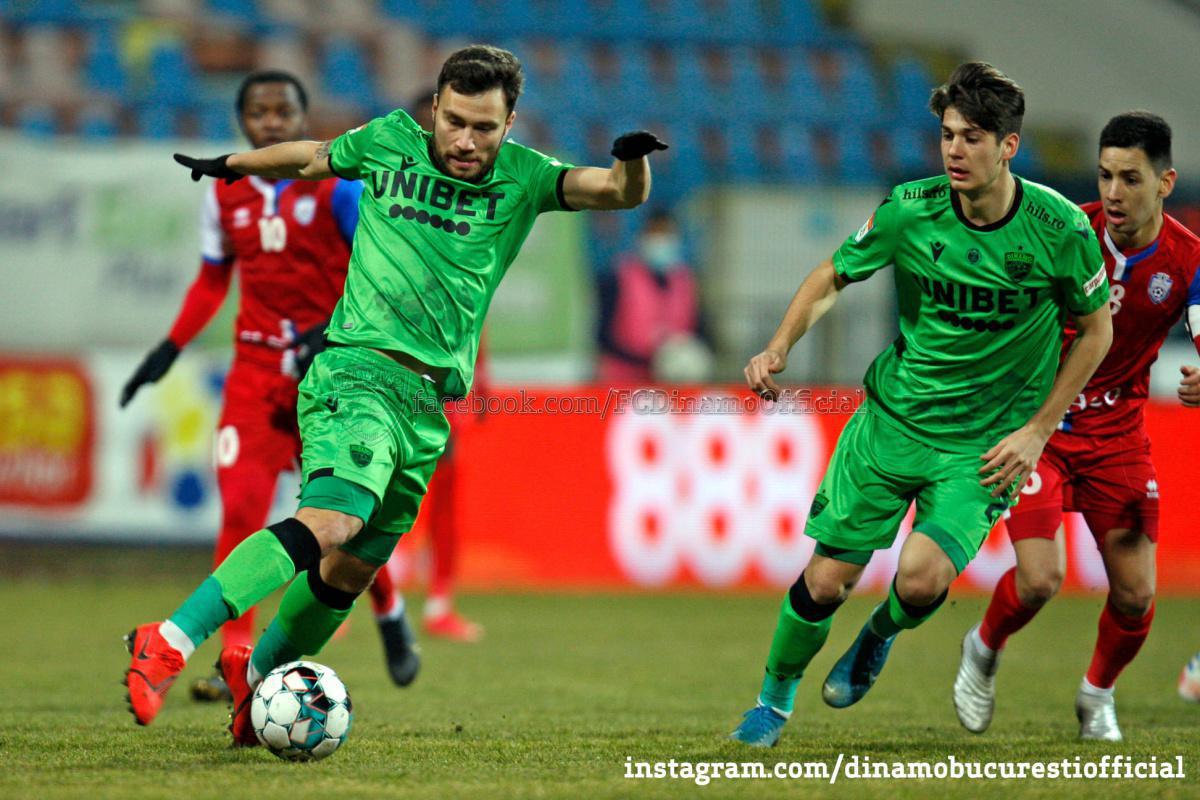 GALERIE FOTO. FC Botoșani vs Dinamo București 4-0 în imagini