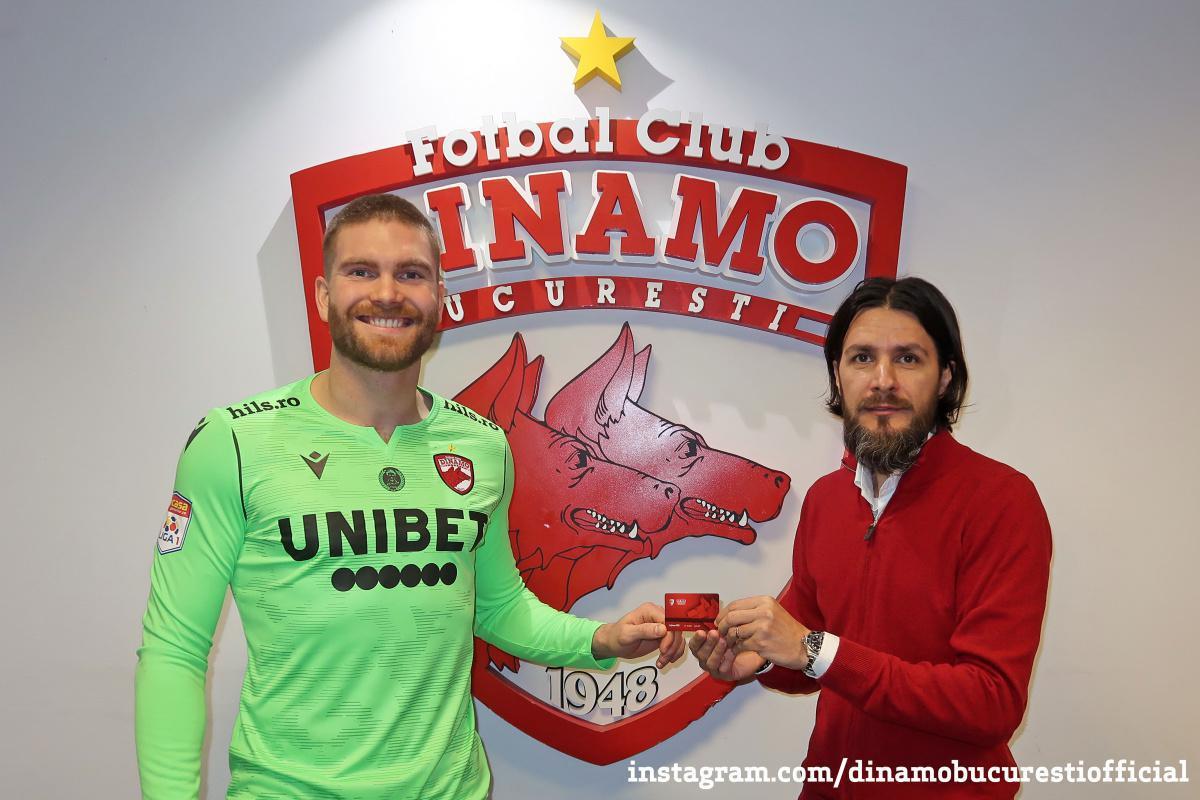 TRANSFER. Gudmund Kongshavn la Dinamo București