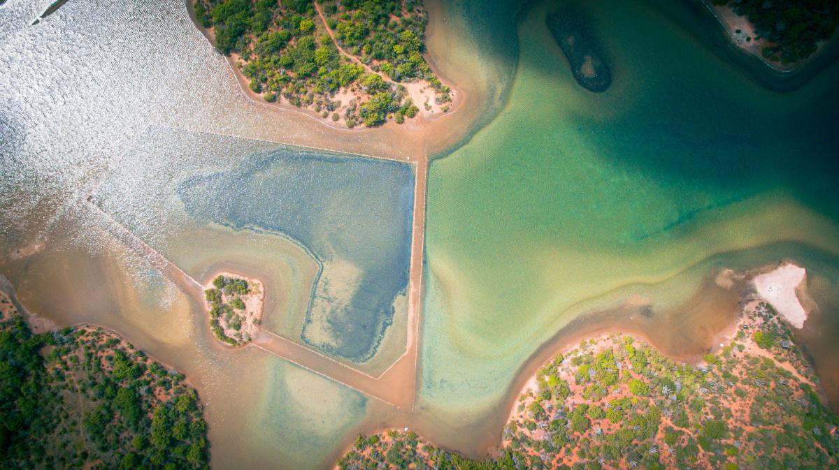 Salt Ponds in Jan Thiel