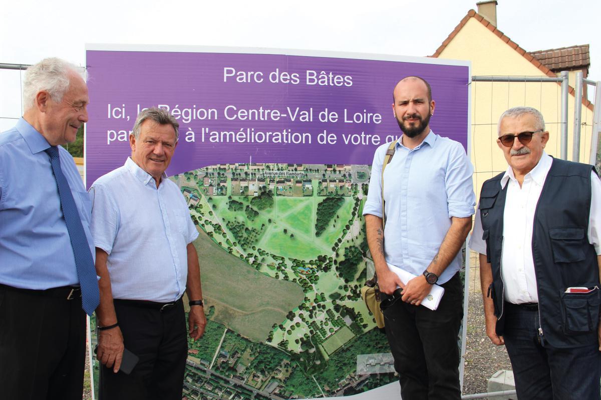 Un nouveau parc en devenir aux Bâtes