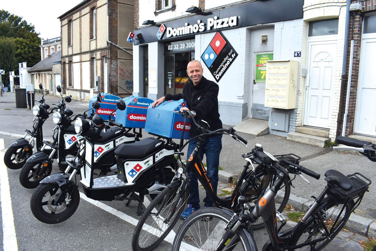 Domino's Pizza roule propre