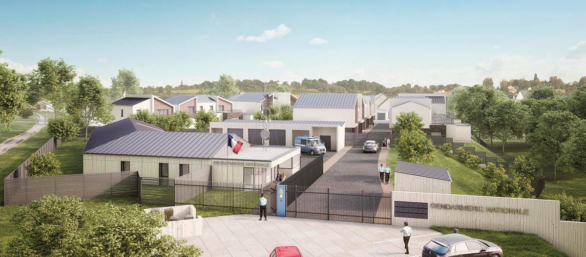 La future gendarmerie de Pacy-sur-Eure sera livrée en 2021