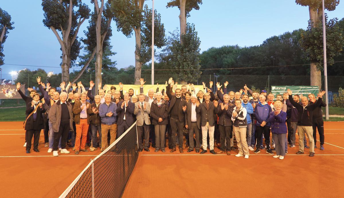 De nouvelles installations pour le club de tennis drouais !