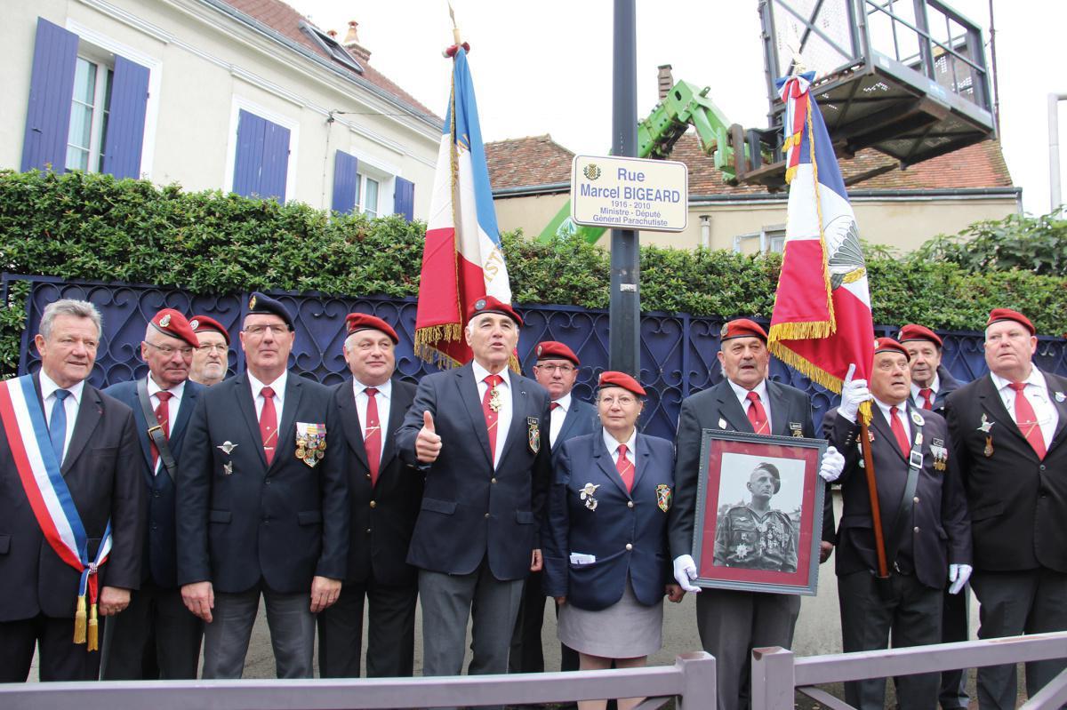 La rue du général Marcel Bigeard inaugurée
