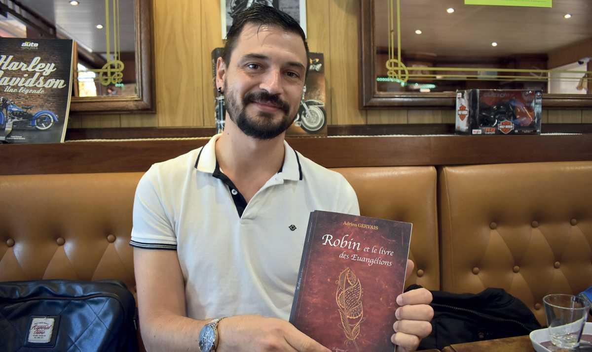 Adrien Gervais signe un premier livre dédié au fantastique