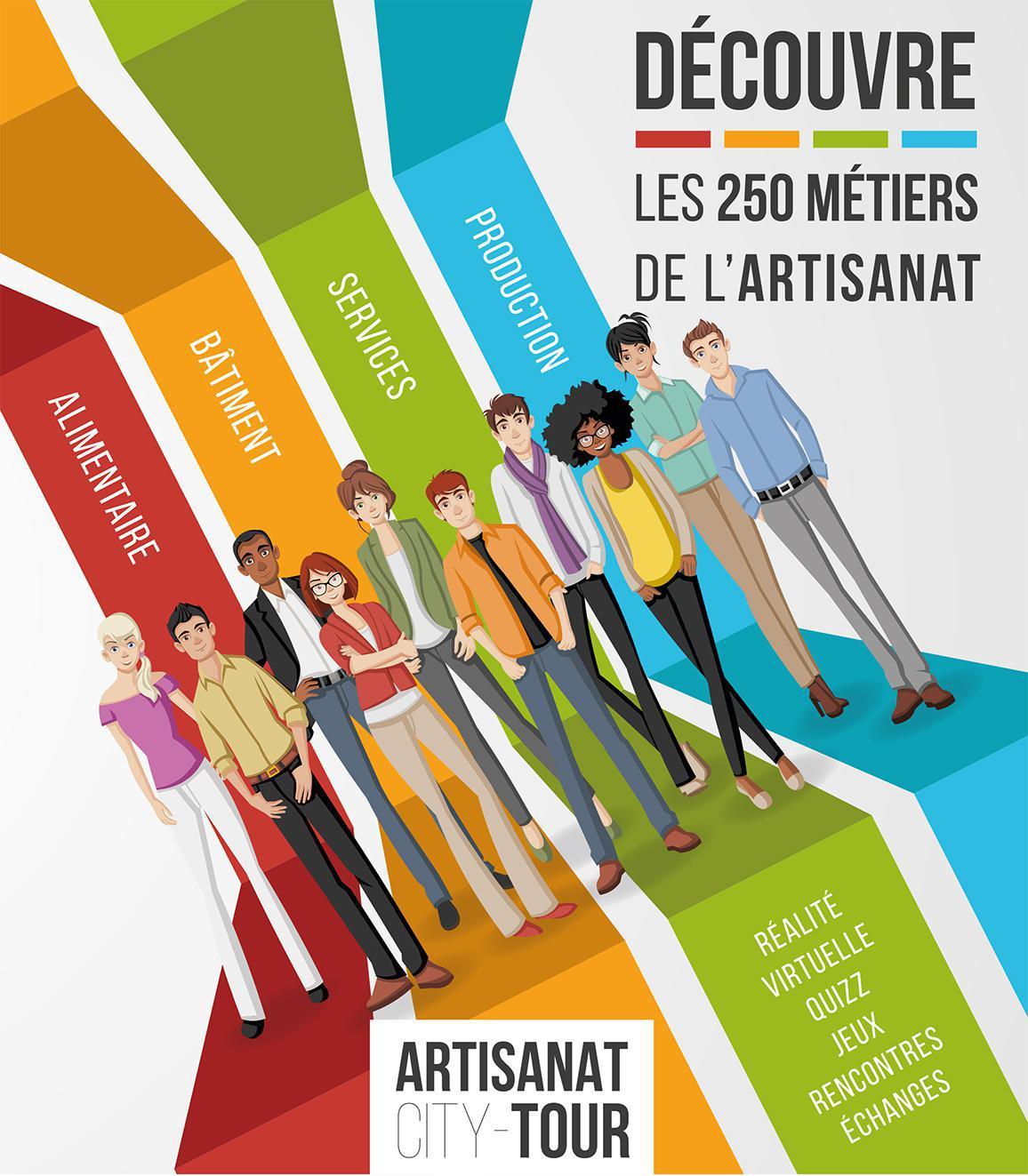 Artisanat city-tour : faire découvrir les 250 métiers de l'artisanat aux collégiens