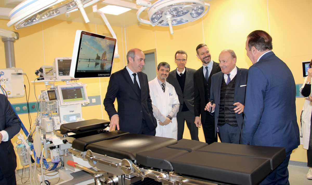 Deux nouvelles salles du bloc opératoire inaugurées