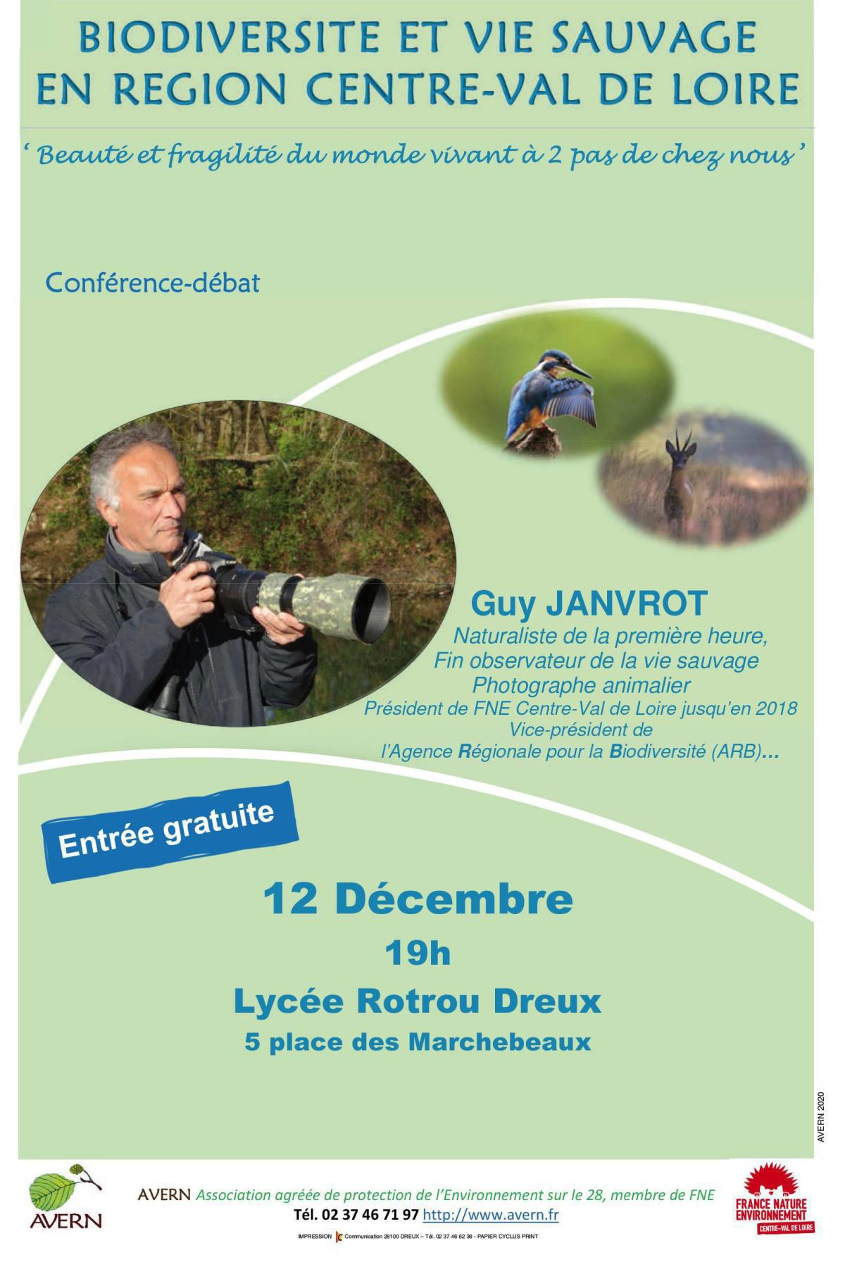 Biodiversité et vie sauvage en région Centre-Val de Loire