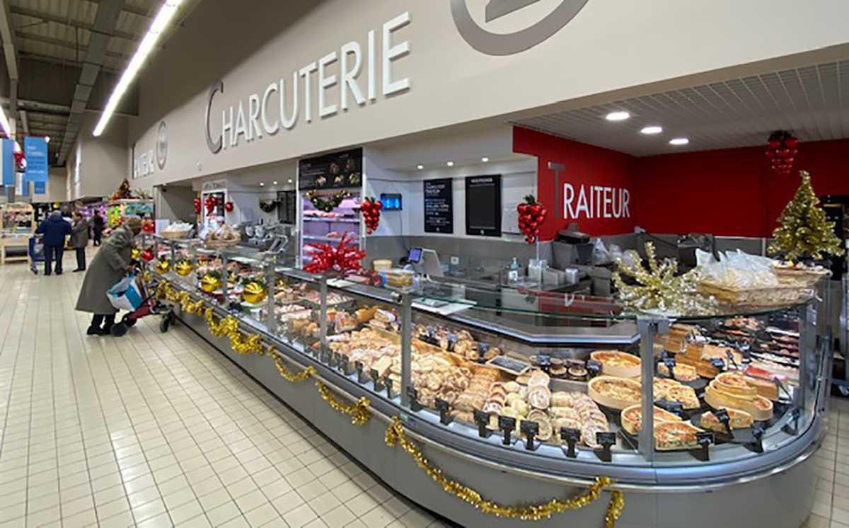 Un marché de Noël de produits festifs chez E.Leclerc