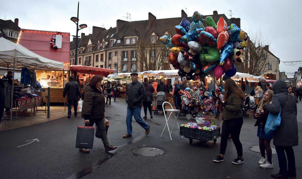 Saint-Nicolas : la pluie a un peu gâché la fête à Évreux