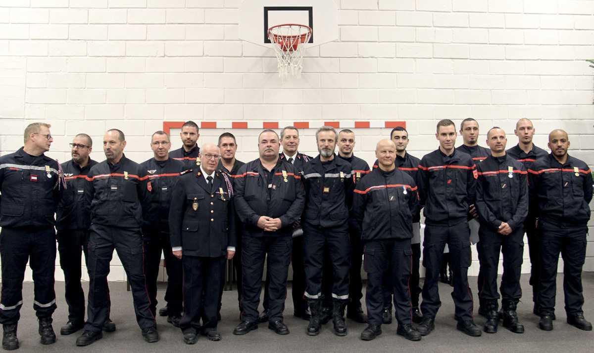 Les sapeurs-pompiers fêtent la Sainte-Barbe