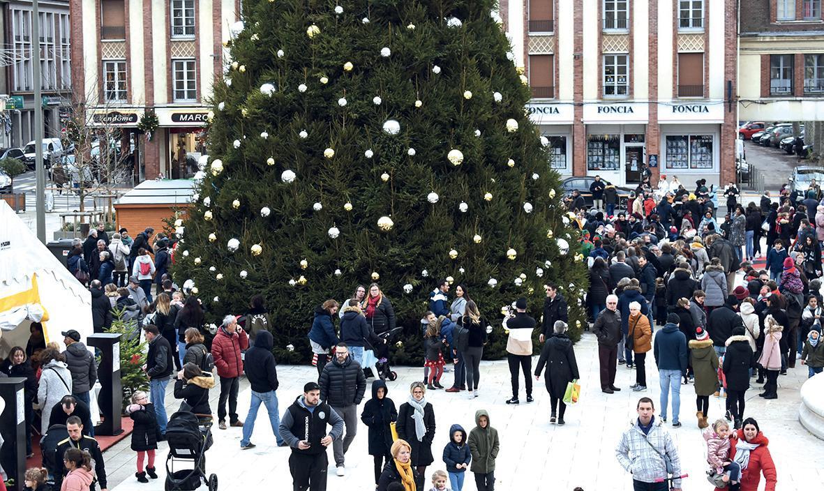 Très grosse affluence pour les festivités de fin d'année à Évreux