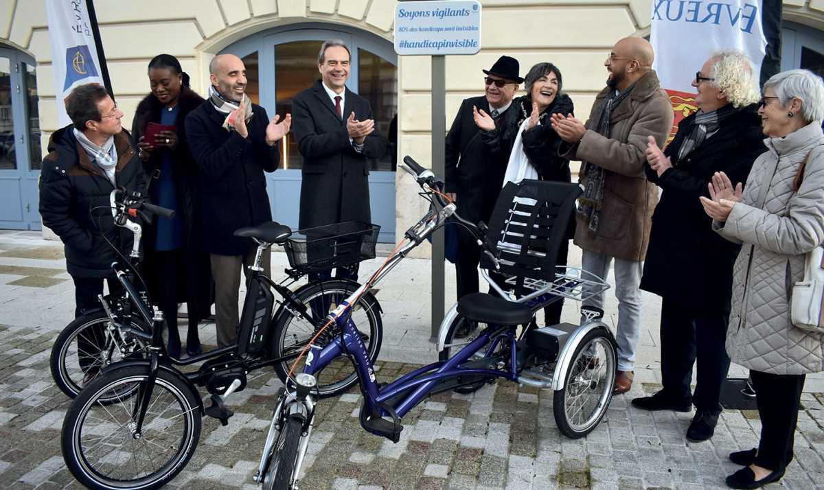 Évreux : la ville récompensée pour son action dans le domaine du handicap