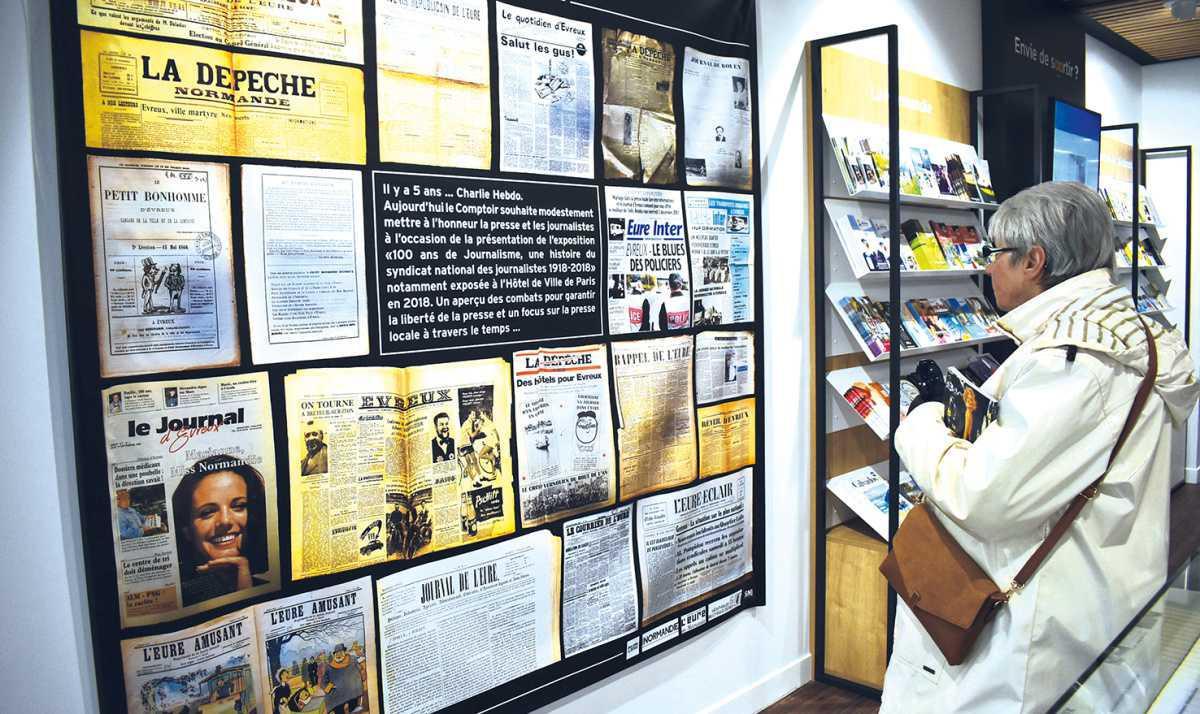 Une exposition intéressante sur « 100 ans de journalisme »