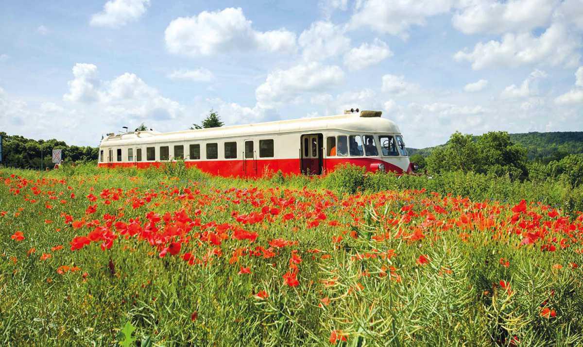 Découvrir les paysages Normands à bord des trains d'autrefois
