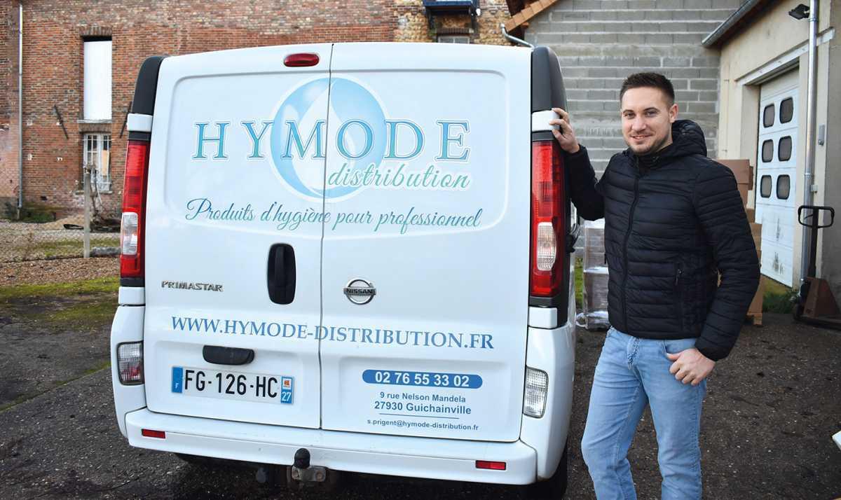 Hymode : tout pour l'hygiène et l'entretien ; le service en plus