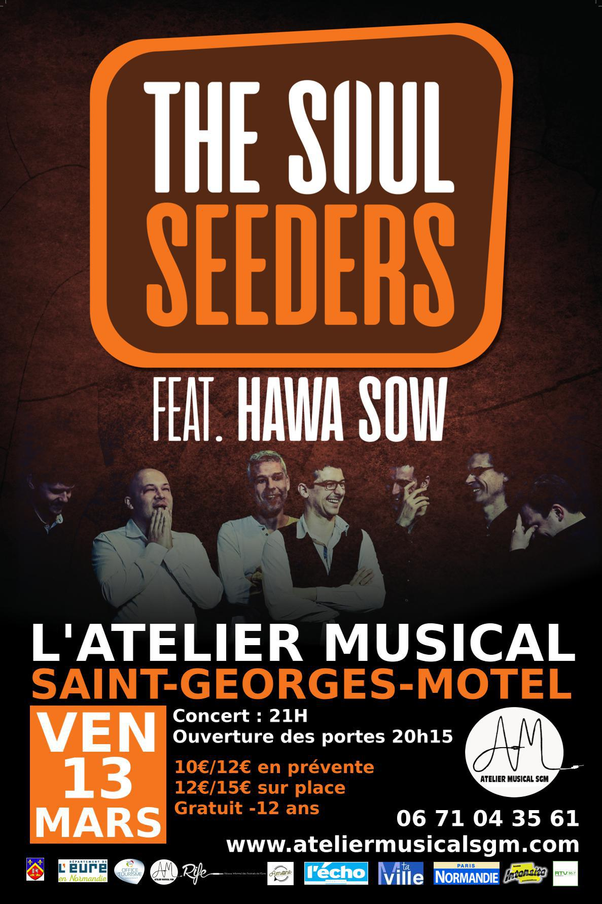 THE SOUL SEEDERS FEAT. HAWA SOW