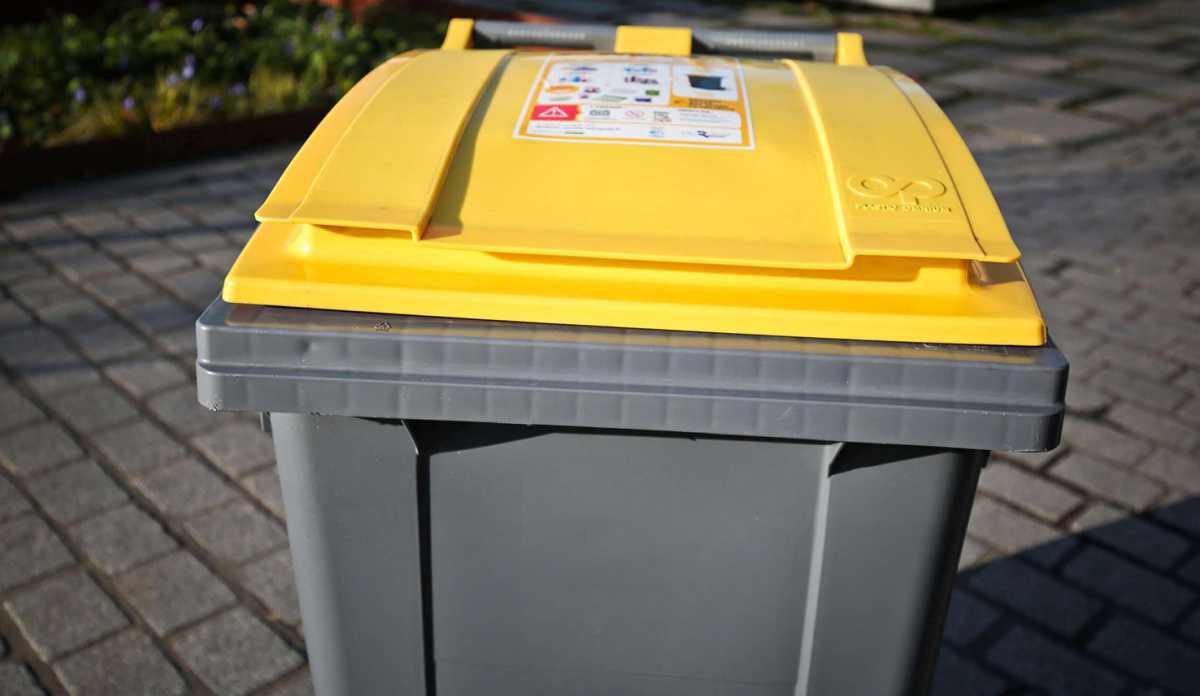 Agglo Infos plus : Ramassage de déchets recyclables en bacs jaunes