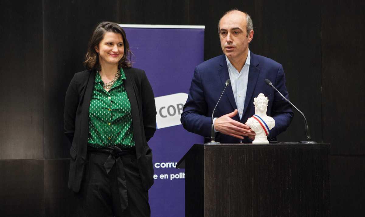 Le prix d'Éthique pour le député Olivier Marleix