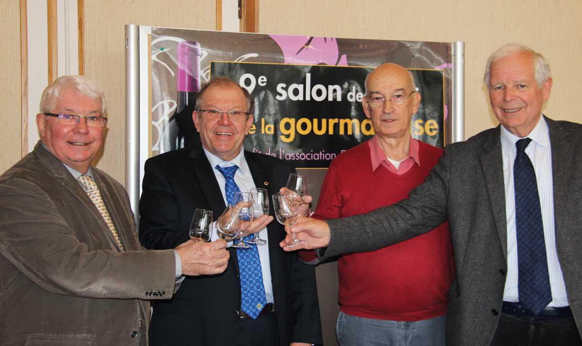 Le salon des vins au profit d'Enfants Cancers Santé