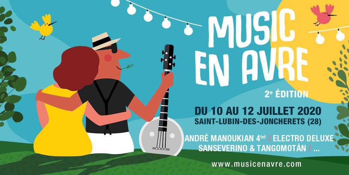 Deuxième édition du festival Music en Avre cet été !