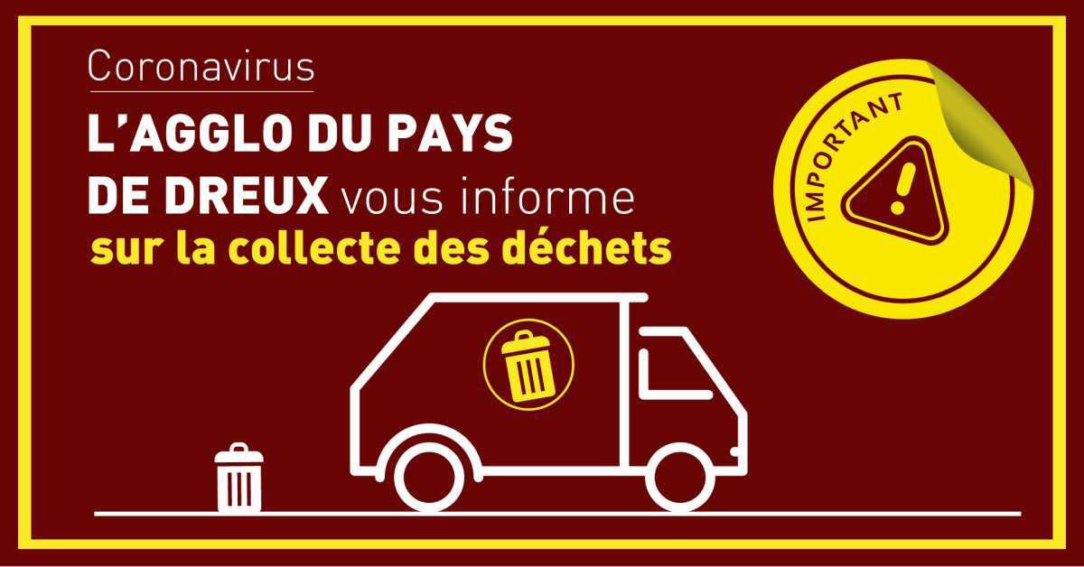 Agglo du Pays de Dreux : la collecte des déchets perturbée