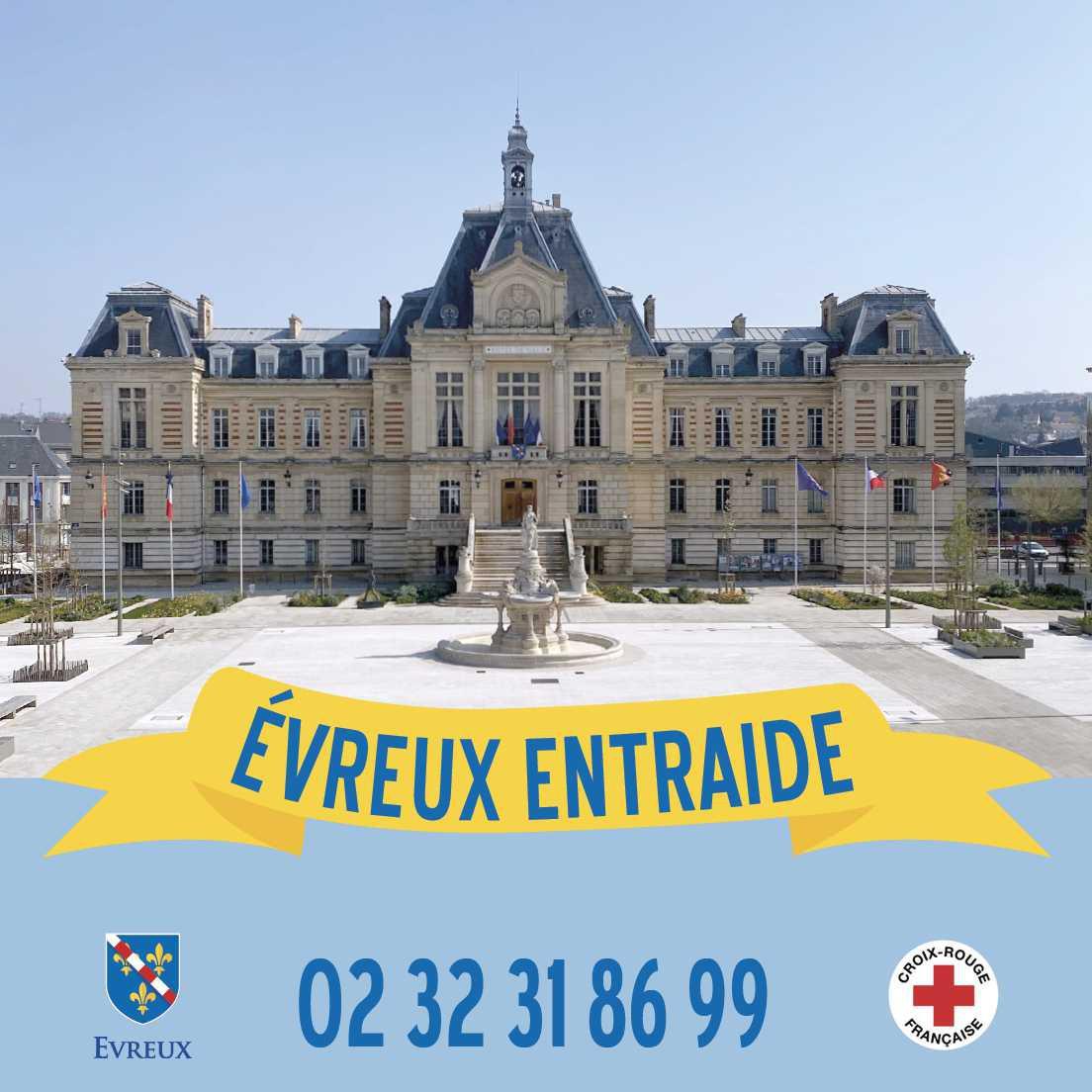 « Evreux Entraide » : La Ville d'Évreux et la Croix-Rouge ouvrent une plateforme pour les bénévoles