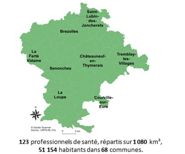 Coronavirus : Deux centres de prise en charges de patients à la Loupe et à Châteauneuf-en-Thymerais