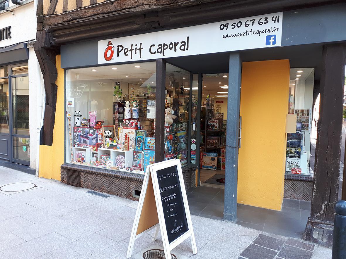 O P'tit Caporal, magasin de jouets solidaire