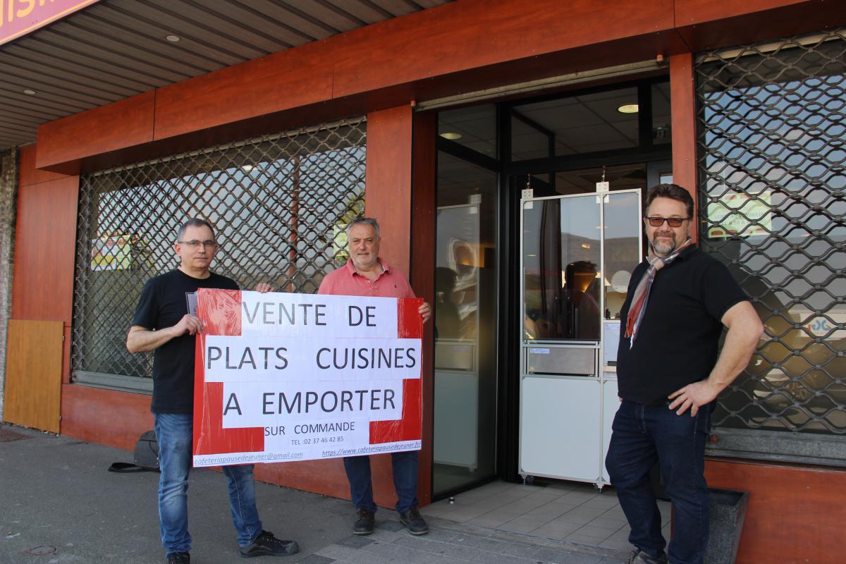 La Cafétéria Pause-Déjeuner expérimente le portillon Soloeur anti-covid-19