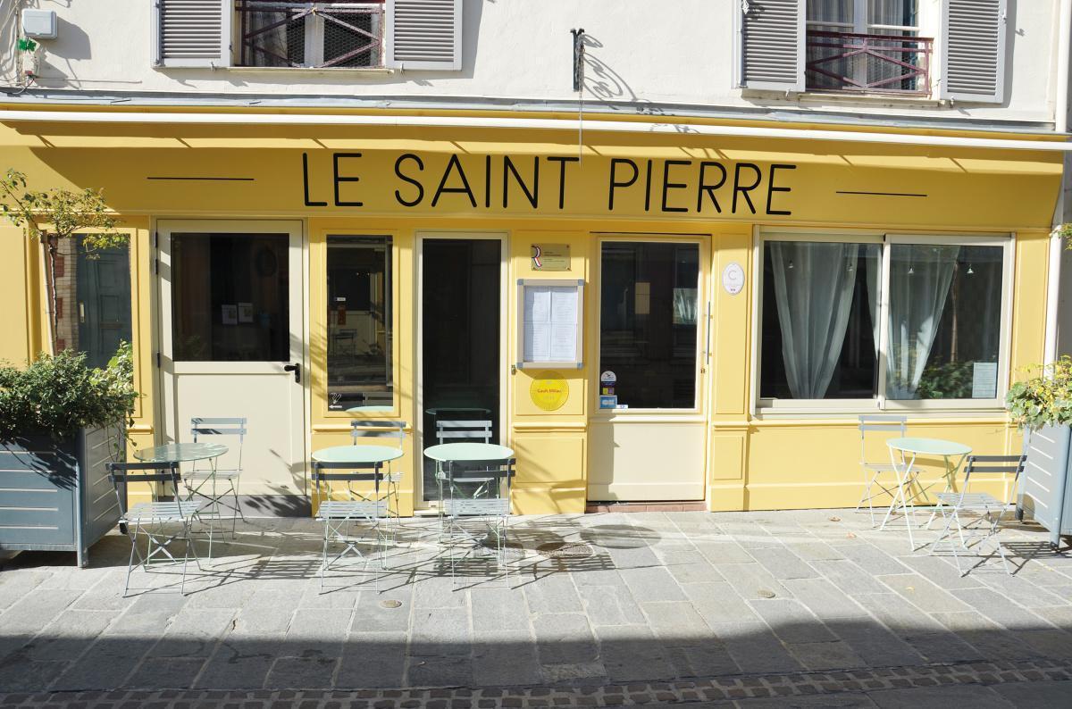 Le Saint-Pierre propose des plats à emporter