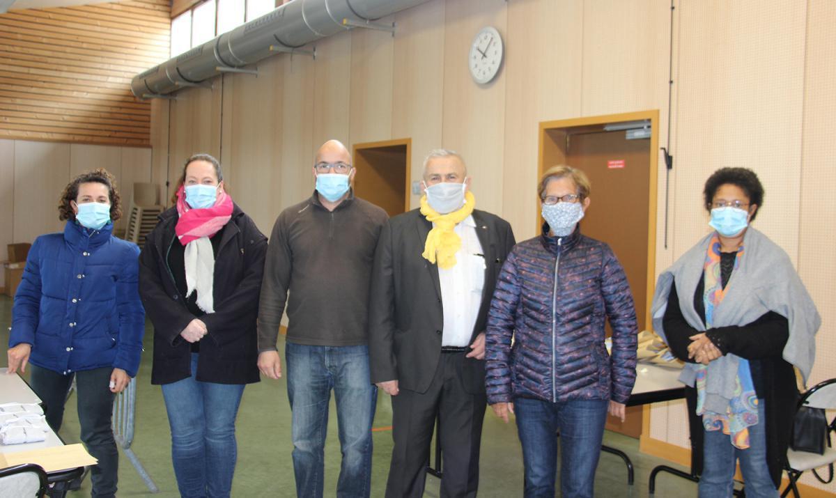 La ville de Dreux distribue des masques