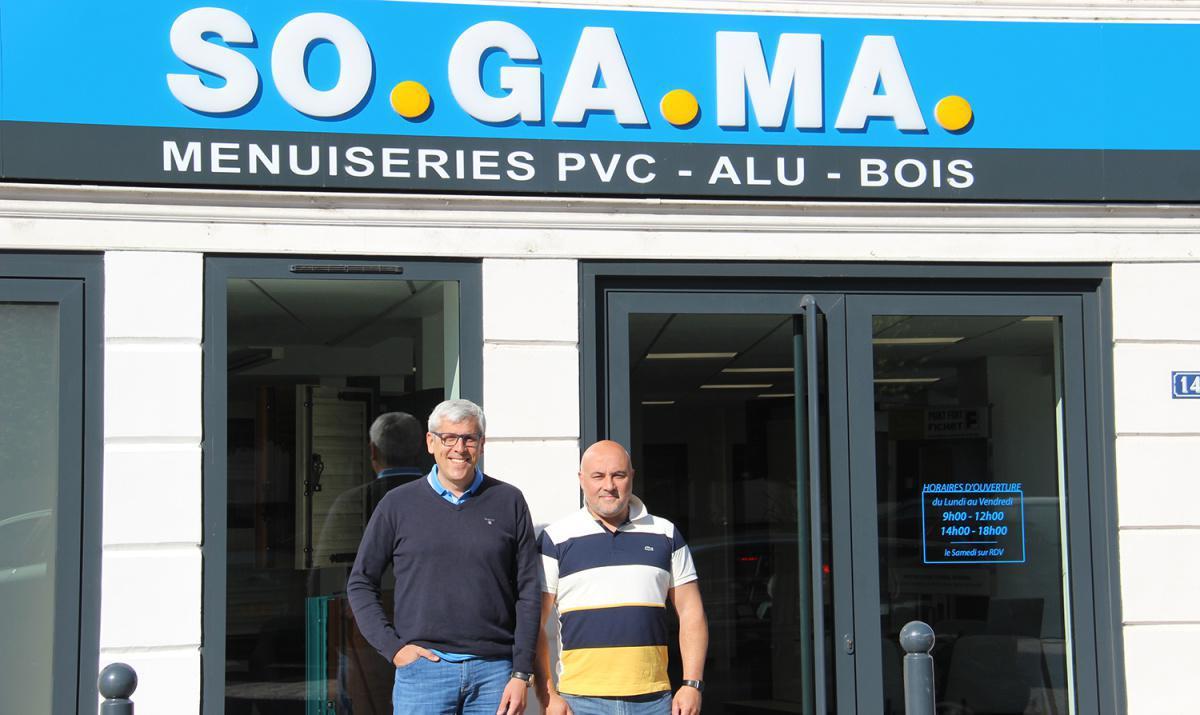 SOGAMA ouvre un showroom en centre-ville de Dreux