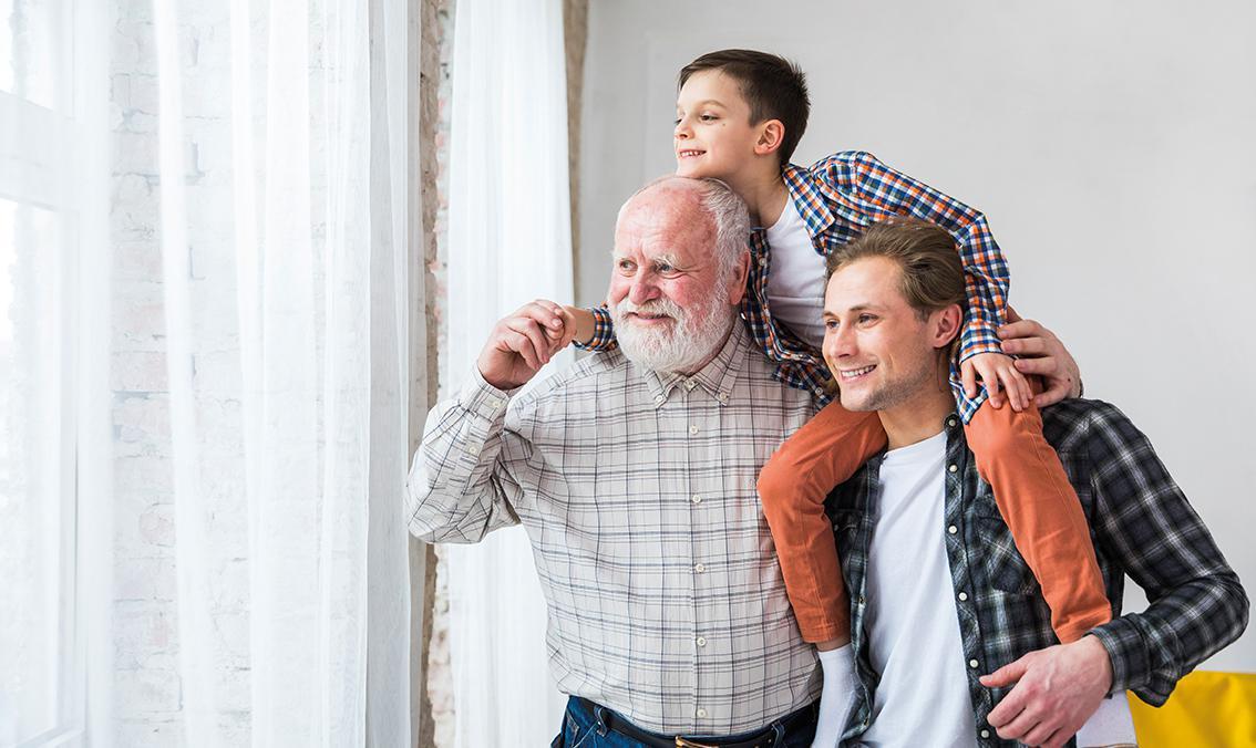 Pas de bisous mais plein d'attentions pour la Fête des Pères