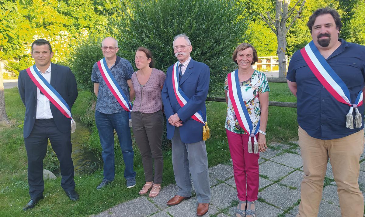Jean Bartier élu maire de Garnay