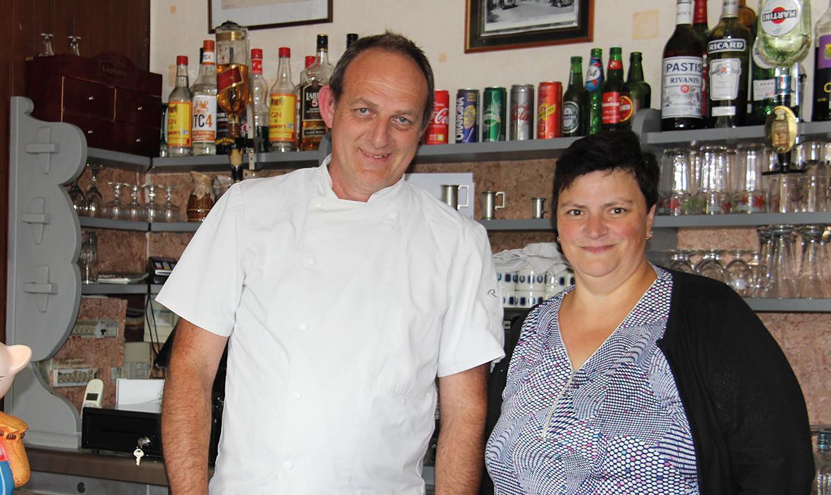 Christian Duchesne chef d'Au Clos fleuri depuis 30 ans