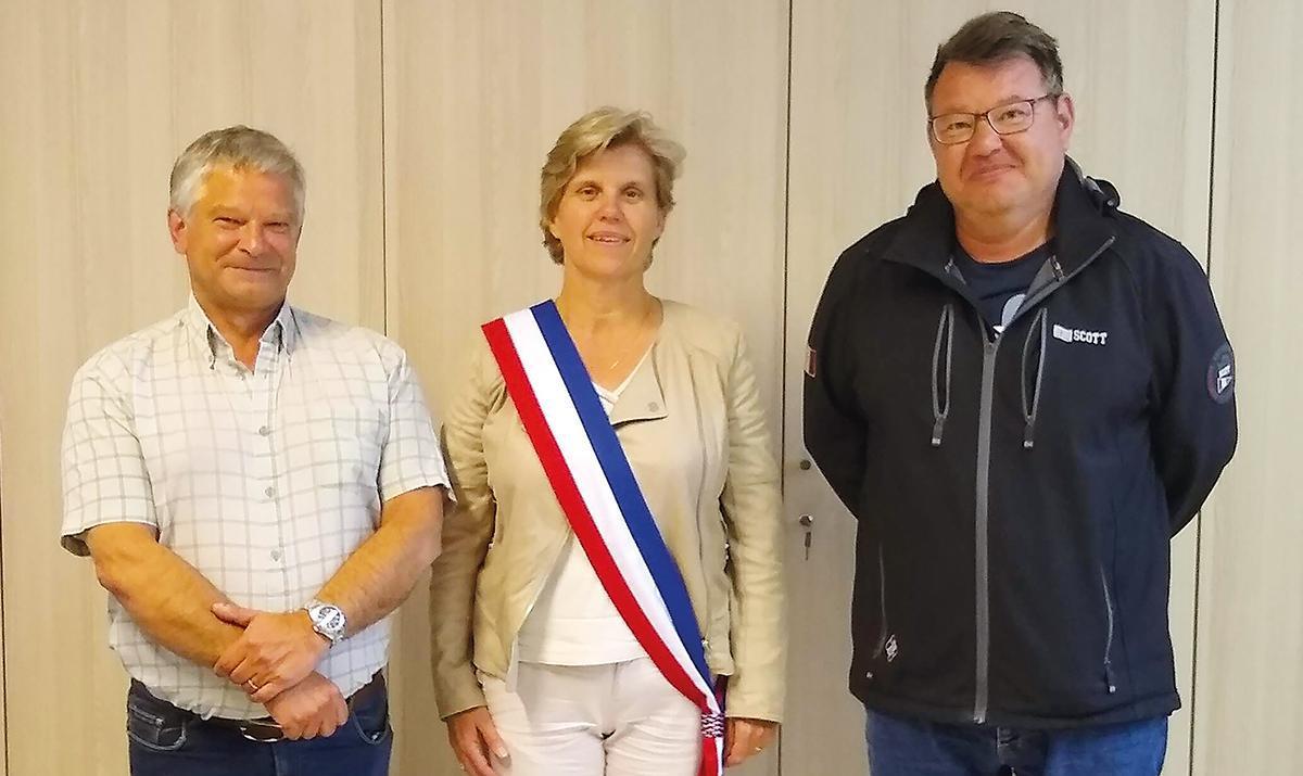 Christine Renaux-Maréchal, réélue maire, mène le projet d'assainissement