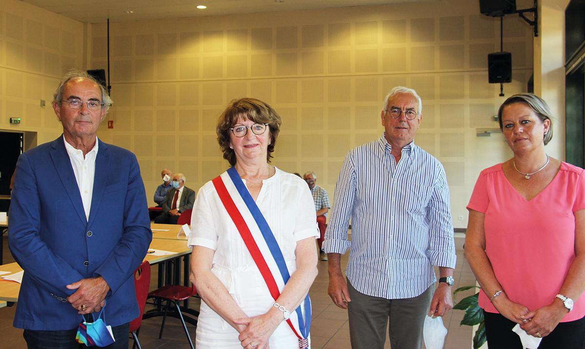 Françoise Borget, élue maire de Sainte-Gemme-Moronval