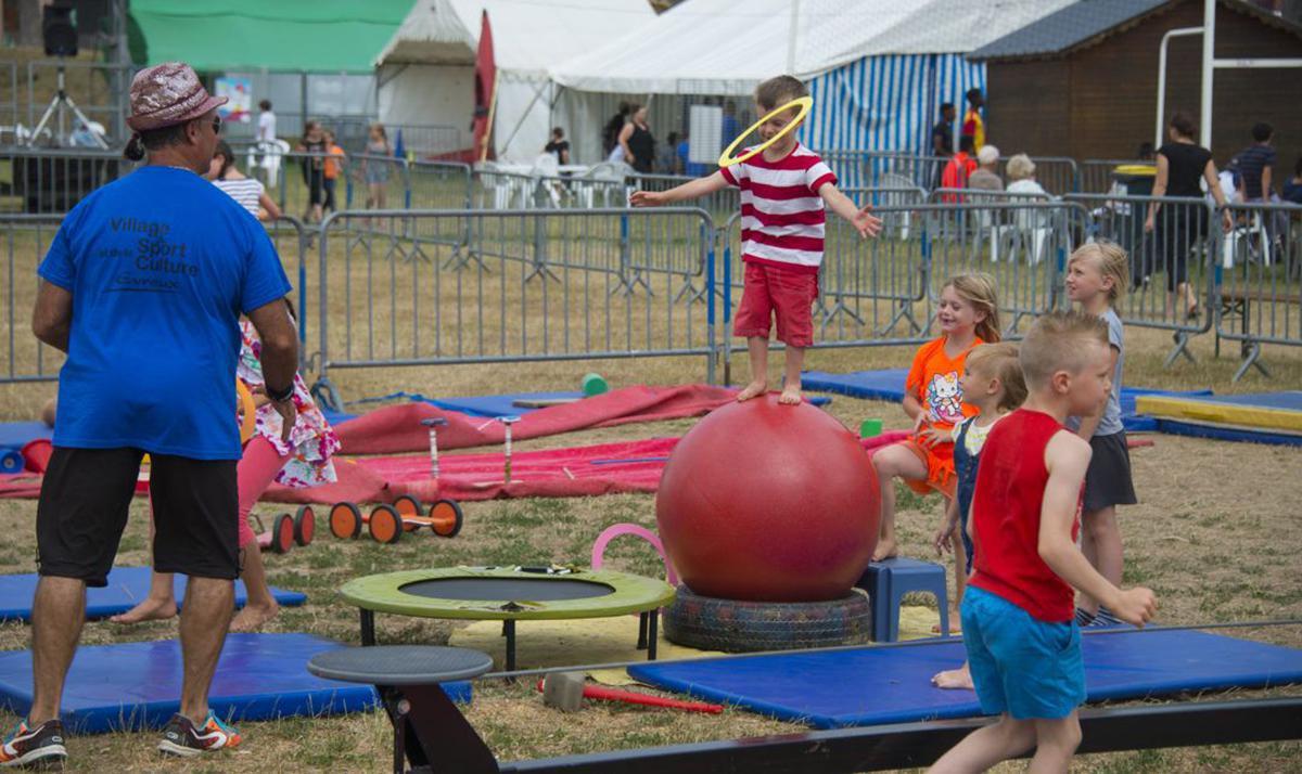 De nouvelles activités au Village des Sports et de la Culture