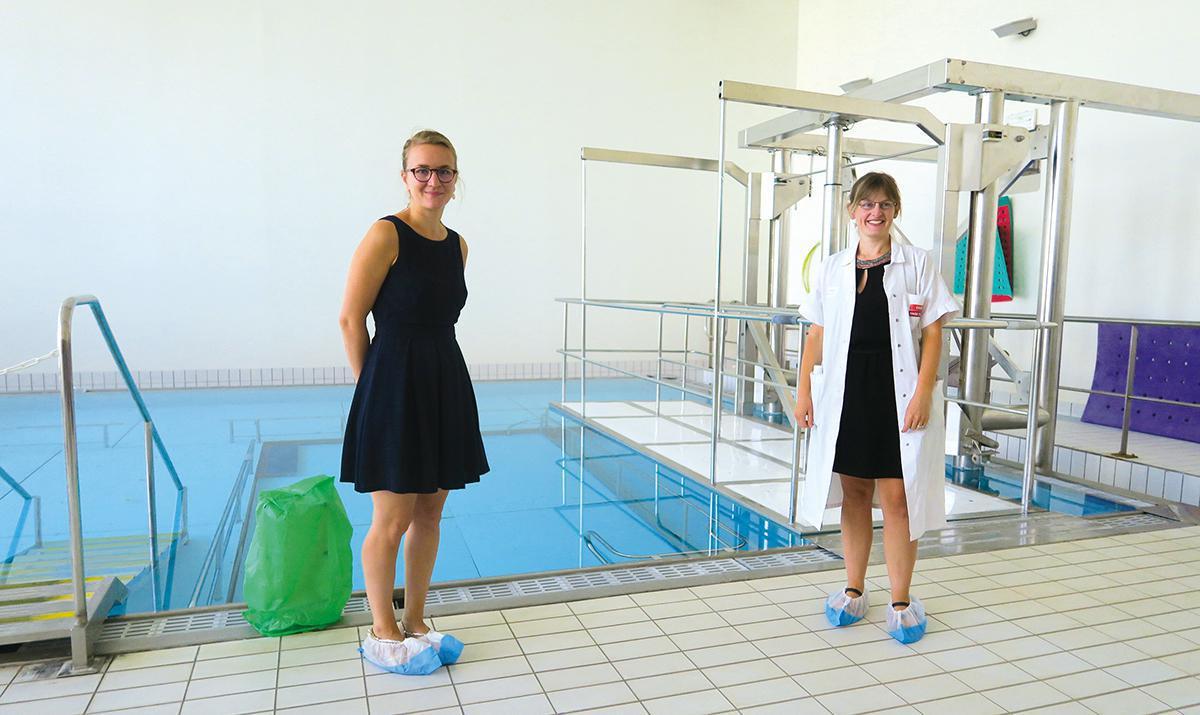 Retour de la préparation à la naissance en piscine à Dreux