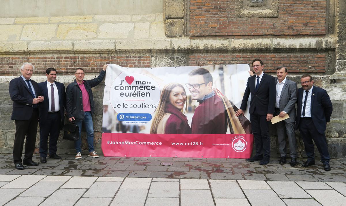 La CCI 28 et la ville de Dreux se mobilisent pour le commerce local