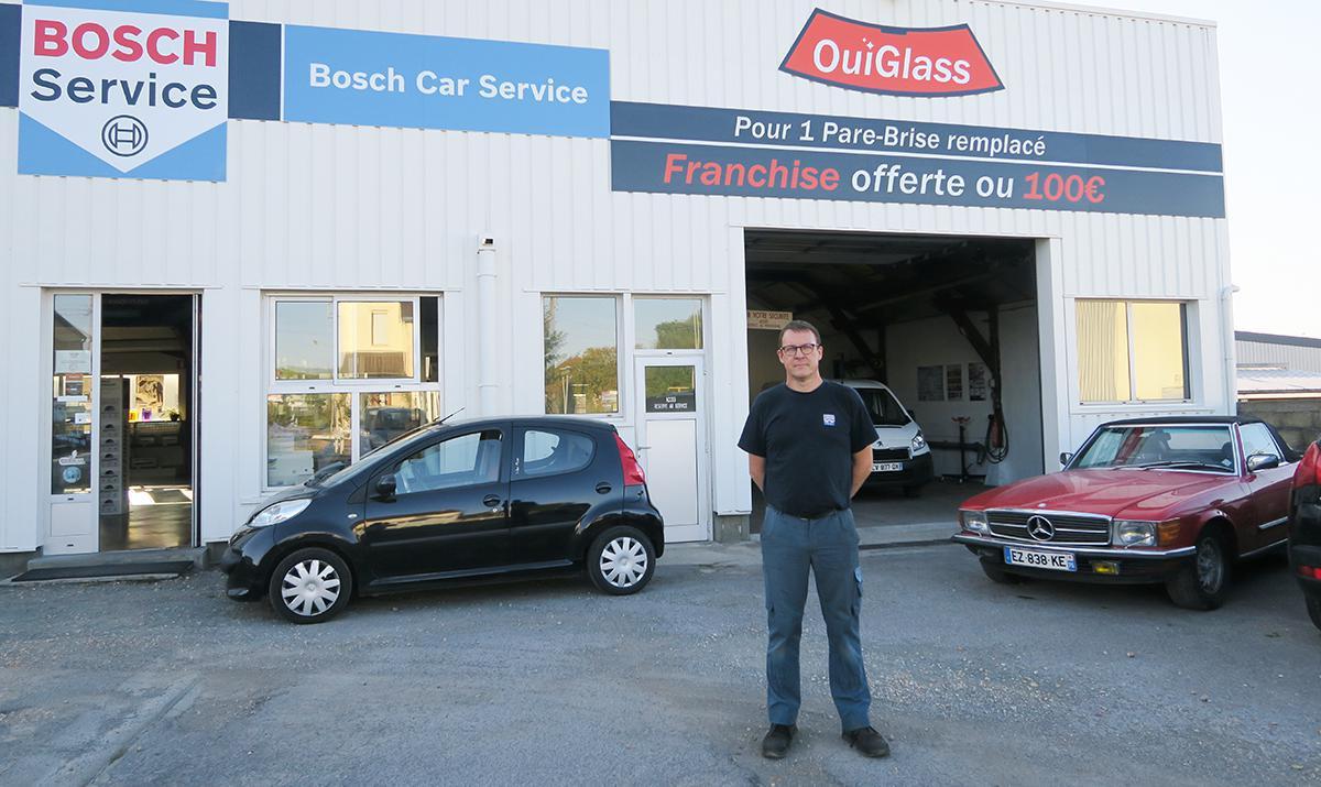 OuiGlass et Maillard Automobile : deux services en un !