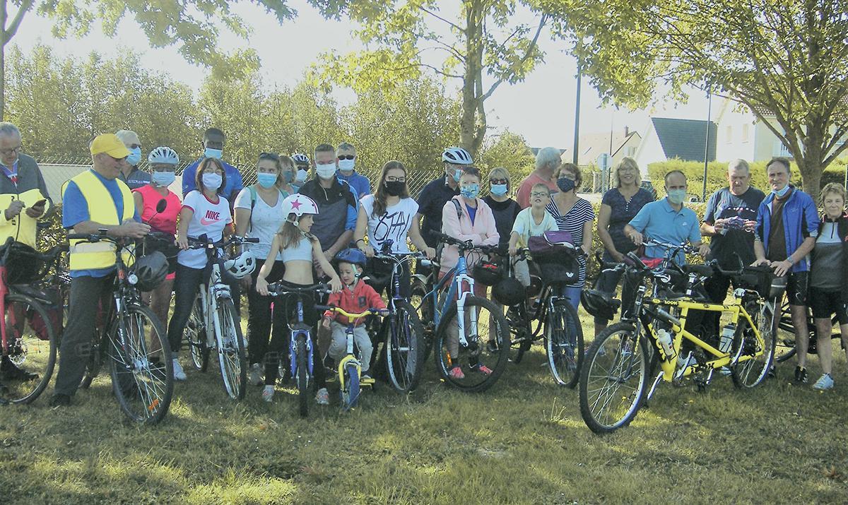 Balade à vélo avec l'association En roue libre