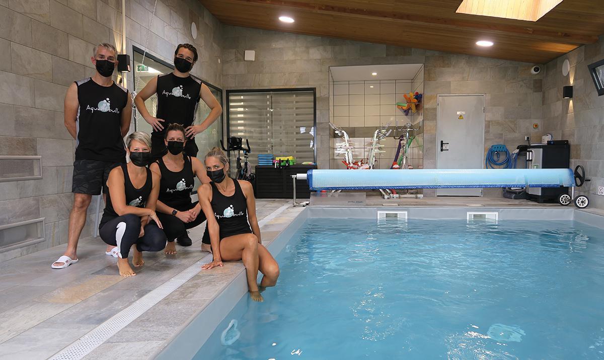 Aquafit'bulle : un nouvel espace détente et fitness aquatique à Bû