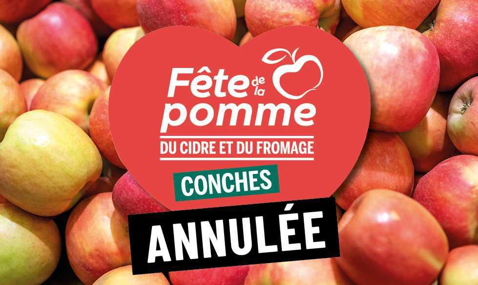 Conches-en-Ouche contrainte d'annuler la Fête de la Pomme 2020