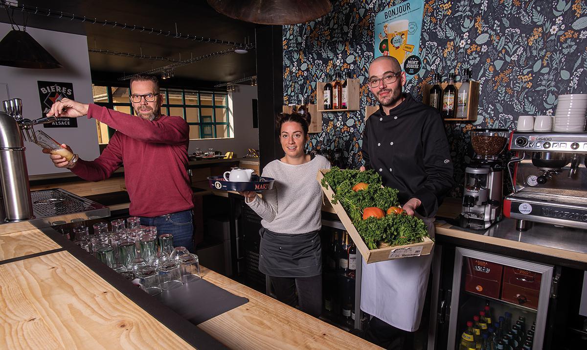 O C'Prey : un nouveau restaurant, totalement repensé